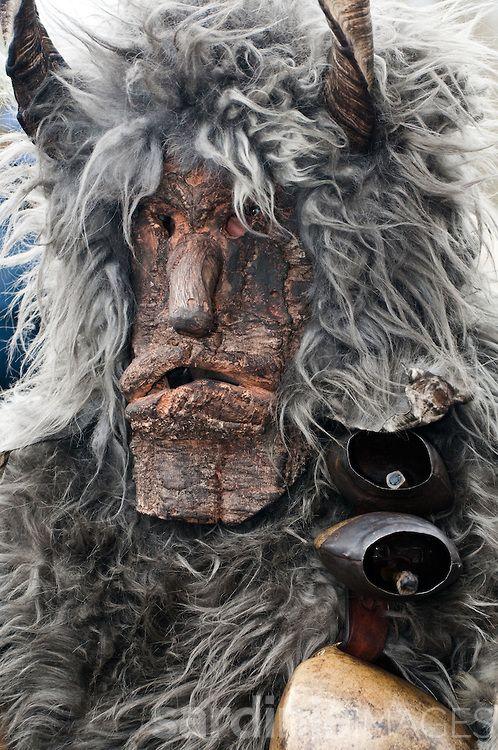 Traditional carnival mask, Sardinia