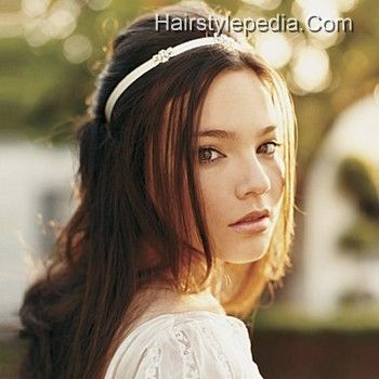 Wedding hairstyles Long wavy brown ombre hairstyle for women