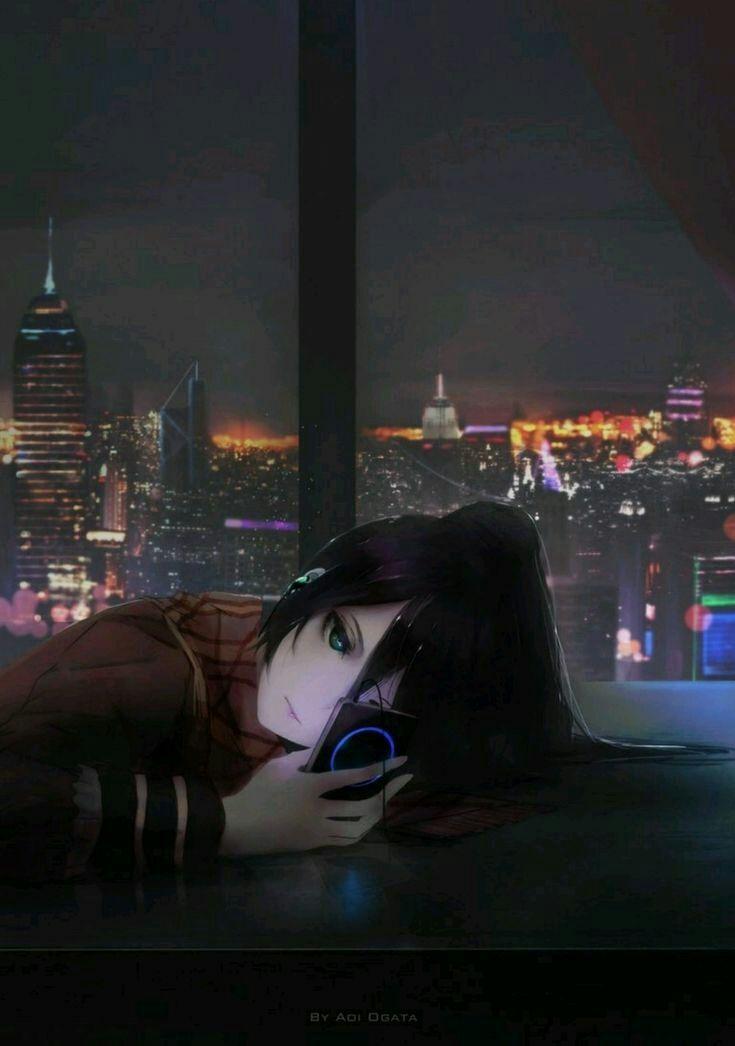 Anime Wallpaper Gambar Anime Gadis Anime Sedih Gambar