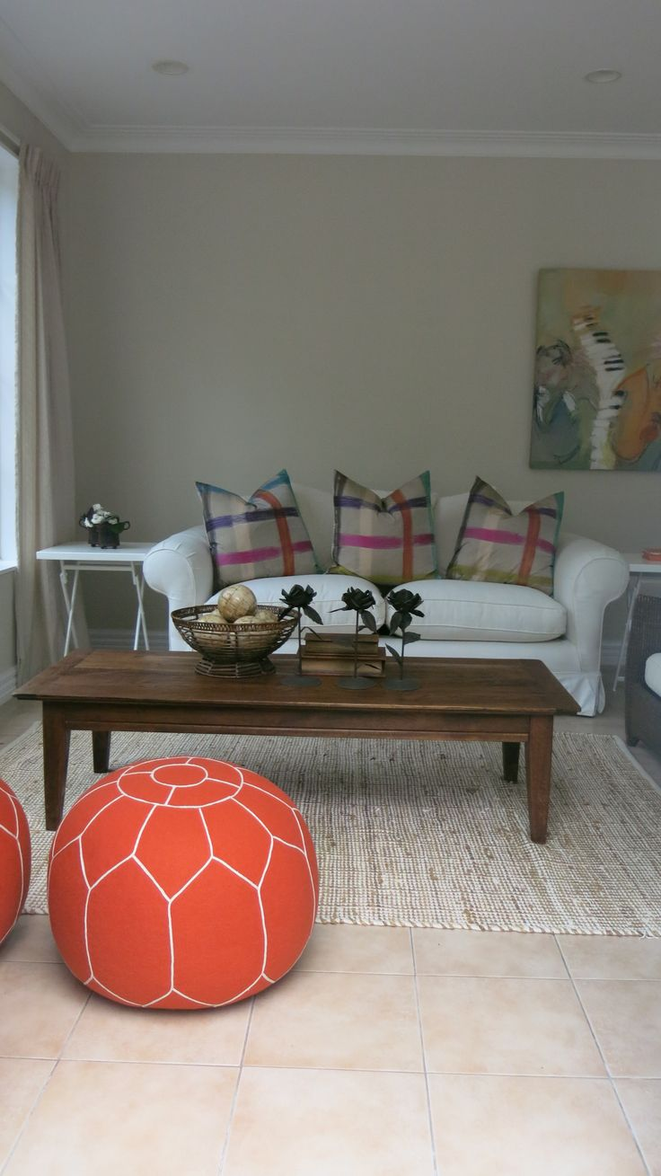 Family room staged by DMI Homestagers.