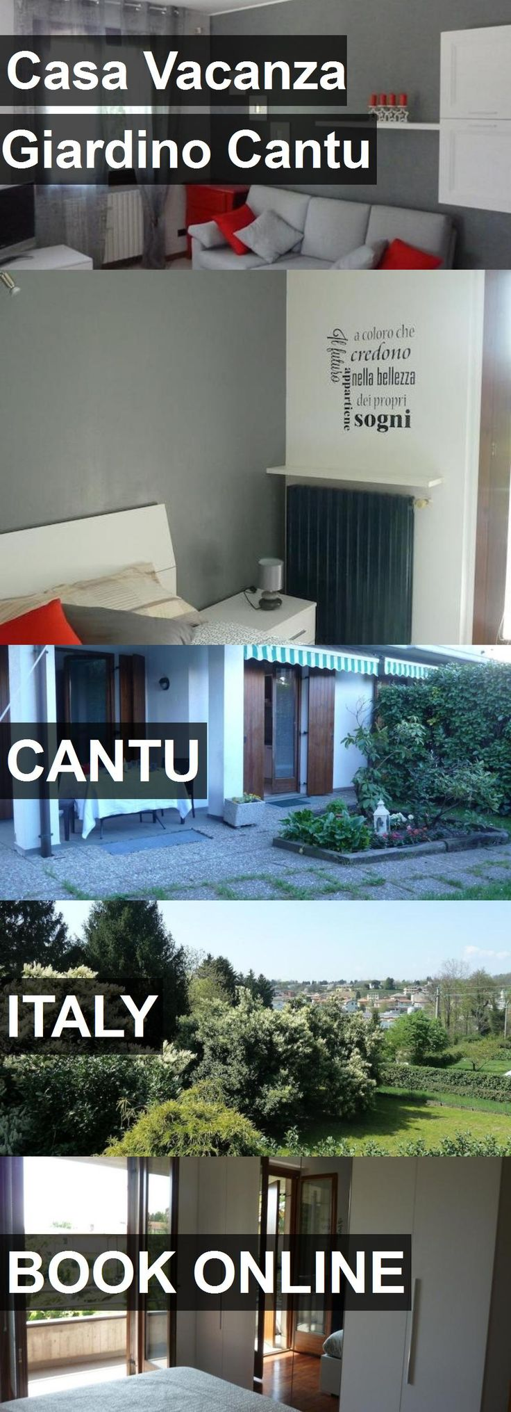 Hotel Casa Vacanza Giardino Cantu in Cantu, Italy. For more information, photos, reviews and best prices please follow the link. #Italy #Cantu #travel #vacation #hotel