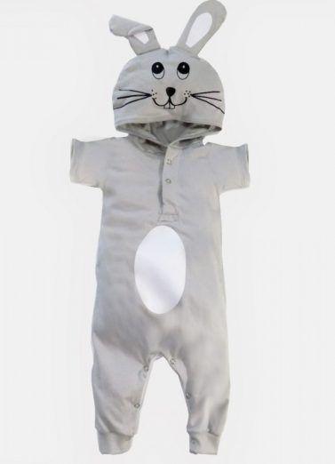 c54f1c175 Moda Infantil - Roupas divertidas para crianças - Macacão Coelho   modainfantil  roupadecriança  roupasdivertidas