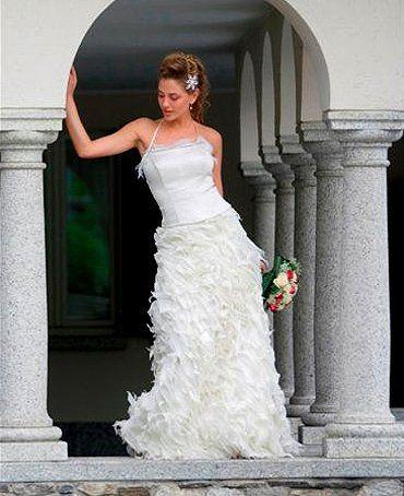 Abito da sposa Peccetti per Verbano Events