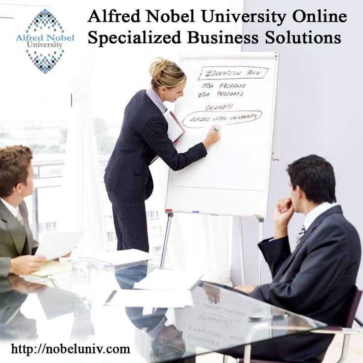 Alfred Nobel University Online business solutions help managers implement best-in-class solutions for business knowledge, business intelligence (BI), and business operation management.  http://nobeluniv.com/en/courses/management-sector/