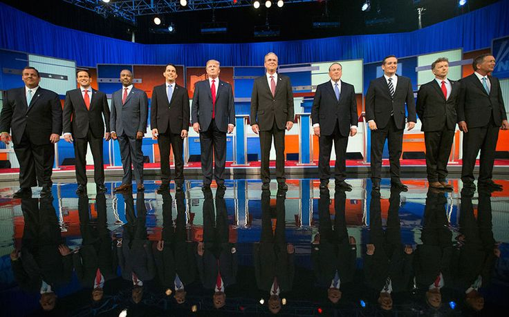 Use our interactive poll to tell us how well you think Donald Trump and the   other Republicans did in tonight's debate