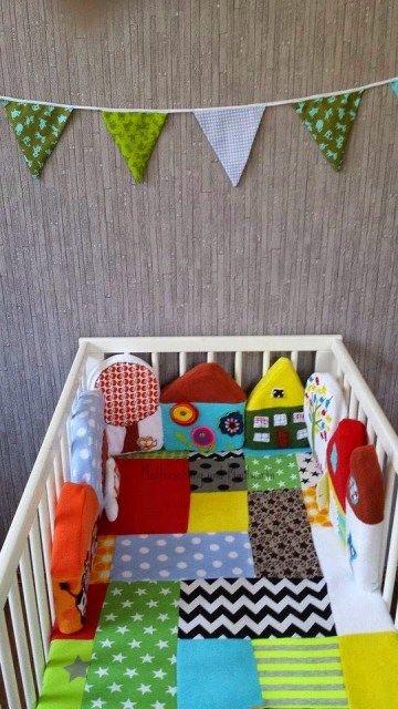 25+ best ideas about nestchen für babybett on pinterest | nestchen ... - Nestchen Babybett Motiven Stoffen Ideen