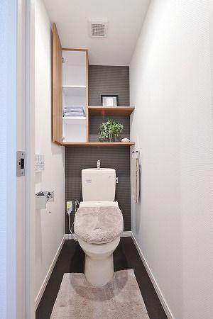 北九州市小倉南区の新築分譲マンション、サンパーク徳力IIトイレ収納