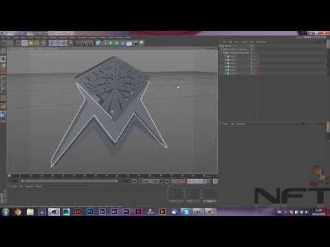 Tutorial - Importar illustrator no Cinema 4D - YouTube