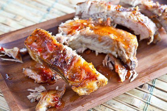 Рецепты свиных ребрышек в духовке с фото