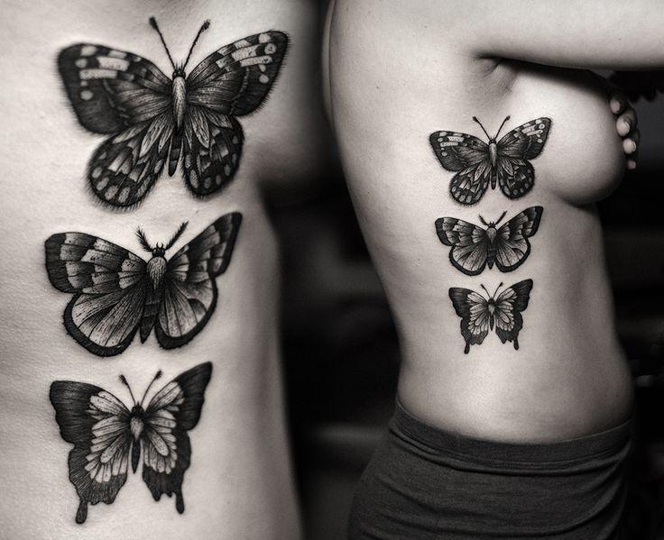 Kamil Czapiga: Tattoo 2014 Butterflies