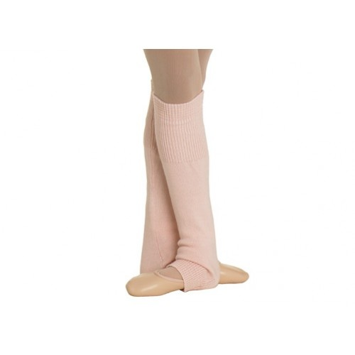 "Bloch Paula, Girl's leg warmer  Girl's knee length leg warmer with ribbed cuff  Fabric: 100% acrylic cashmere like yarn  Sizes:One size 18""  Colors: Ballet pink , Light Blue, Black  Price: 13.20€"