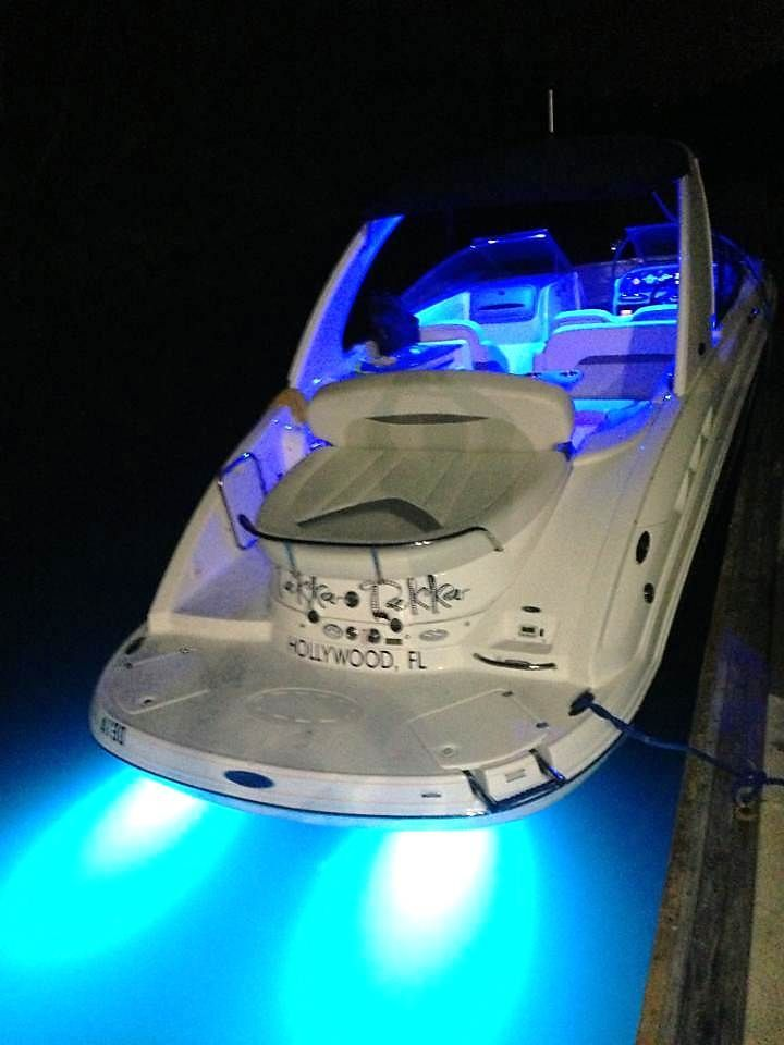 Our blue underwater LED lights will make you stand out in any type of water environment.
