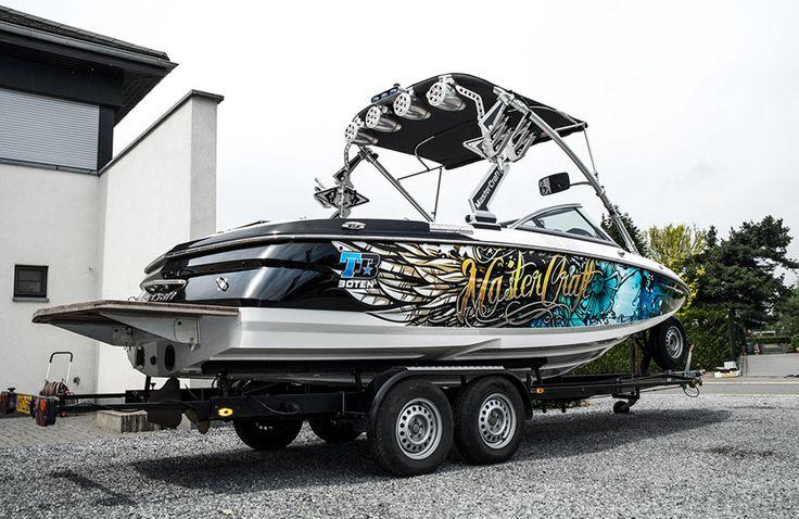 Mastercraft Boatwrapping #signmania #boatwrapping #boats #boatwrap #wrapping #boat #design - www.signmania.com