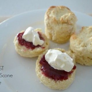 I've been making these four ingredient scones for a few years now and while it's always been quick and easy to put together, using a Thermomix makes it dangerously easy to have a batch of these little beauties in the oven in no time at all.