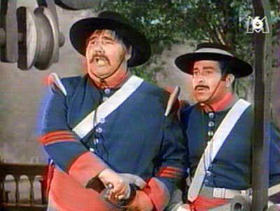 Walt Disney Zorro (1957-1959) - sergent Demetrio Lopez Garcia & Caporal Reyes - Stargate.Atlantis, Prison Break, Ncis, Bones,...