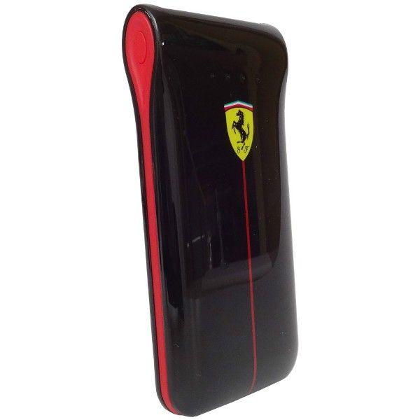 Buy Ferrari Emergency Battery Black Glossy 2 USB 5000 mAh Power Bank