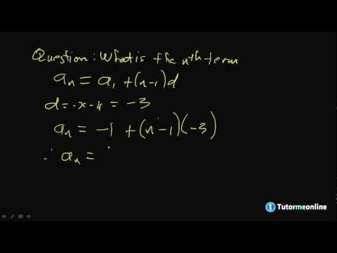 Sequences and Series: Introduction & Arithmetic Progression