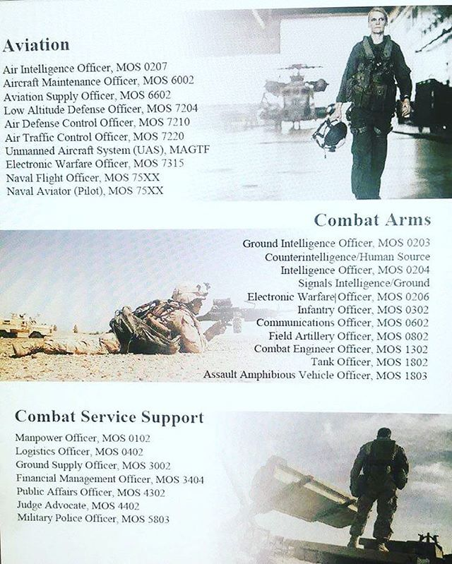 Per the video by Capt Grey these are the Marine Corps