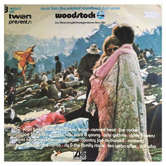 VINYL: Woodstock Music From The Motion Picture by RockPopAtoZ
