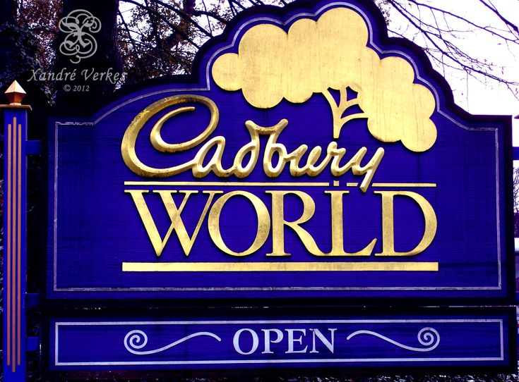 Birmingham, UK - Cadbury Factory  This is my next vacation destination.