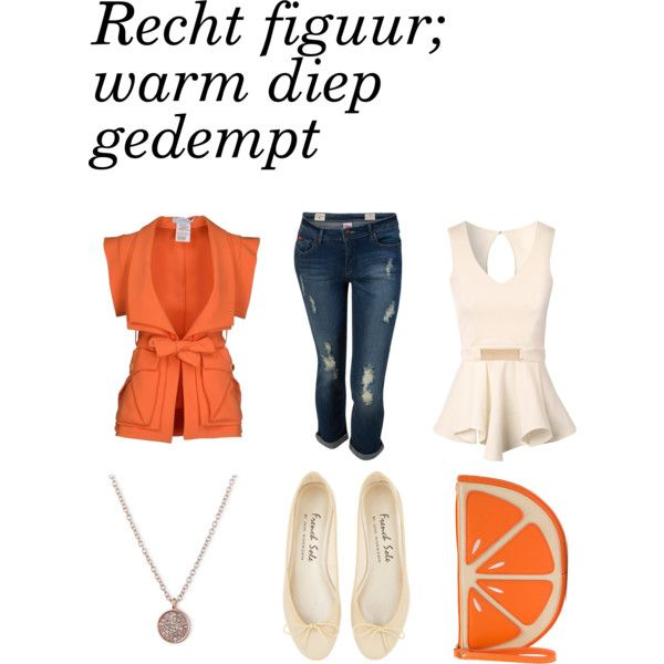 Recht figuur by officialfw on Polyvore featuring mode, Jane Norman, Versace and Anne Klein