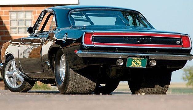 Mopar Muscle cars -  Florida-car-insurance-plymouth-barracuda-cheap-rates--NICE SET 'O FAT HIDES...YOU NEED A HEMI TO TURN 'EM...