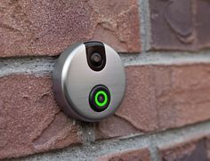 See who is at your door from anywhere in the world with SkyBell, the Wi-Fi video doorbell.