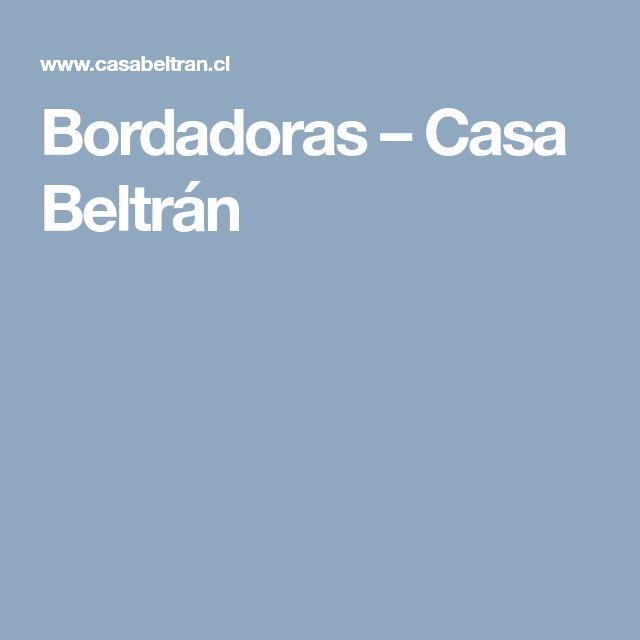 Bordadoras – Casa Beltrán