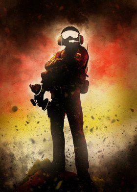 rainbow six hero german jager games game videogames