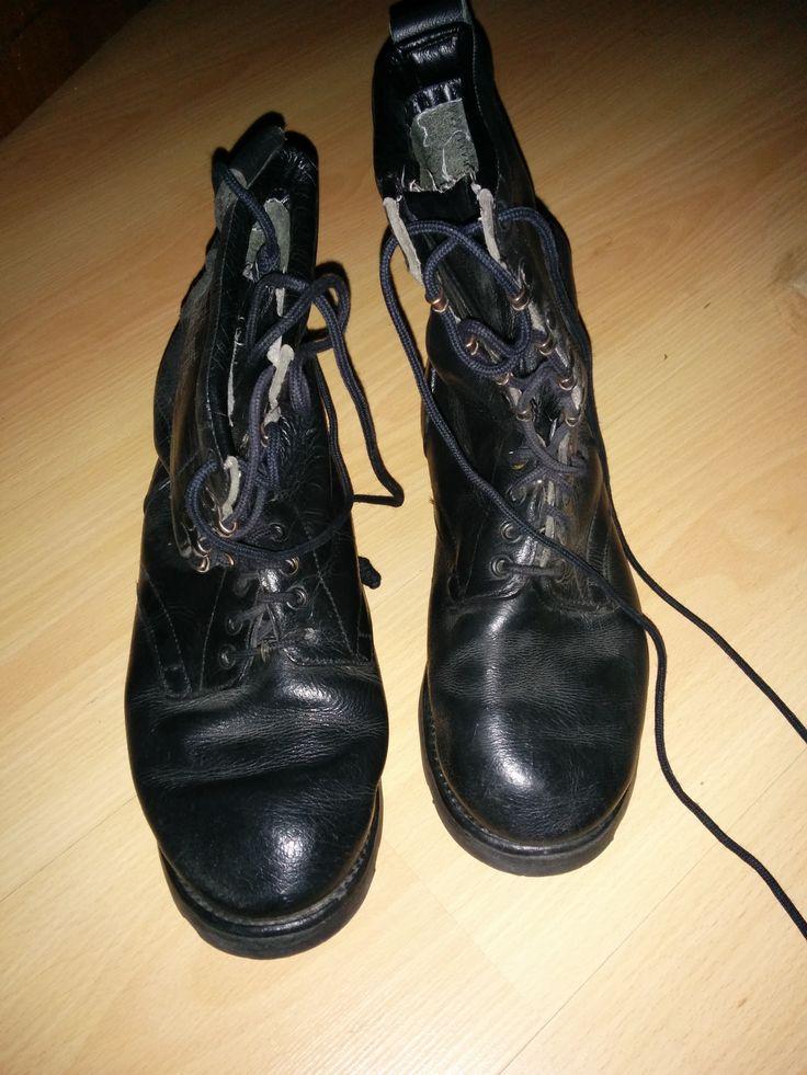 Botas militares - http://vaciatrasteros.com/ad/botas-militares/