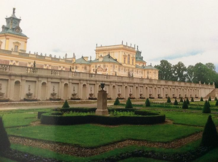 Palace in Wilanow Summer Residence of Polish Kings