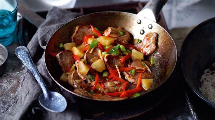 Zajrzyj do Kuchni Lidla po moc inspiracji i przepisów na azjatyckie dania. Przygotuj polędwicę wieprzową z ananasem z woka.