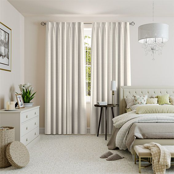 Harrow Cream Curtains from Blinds 2go