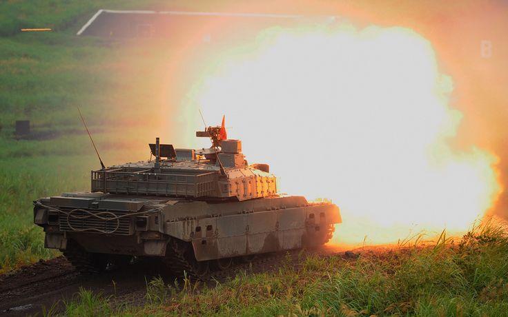 танк, тип 10, основной, боевой, японский