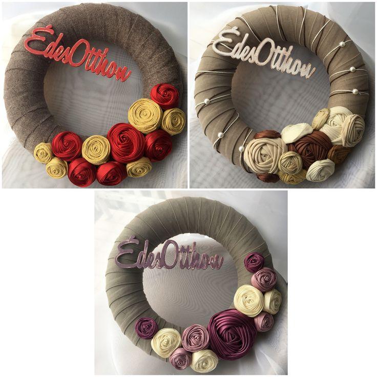 #wreath #wreaths #wreathmaking  #homedecor #handmade #diy #craft #tmoni_crafts #tmoni_diy #tmoni_wreaths #toth_lanyok_moni #welcome #sweethome