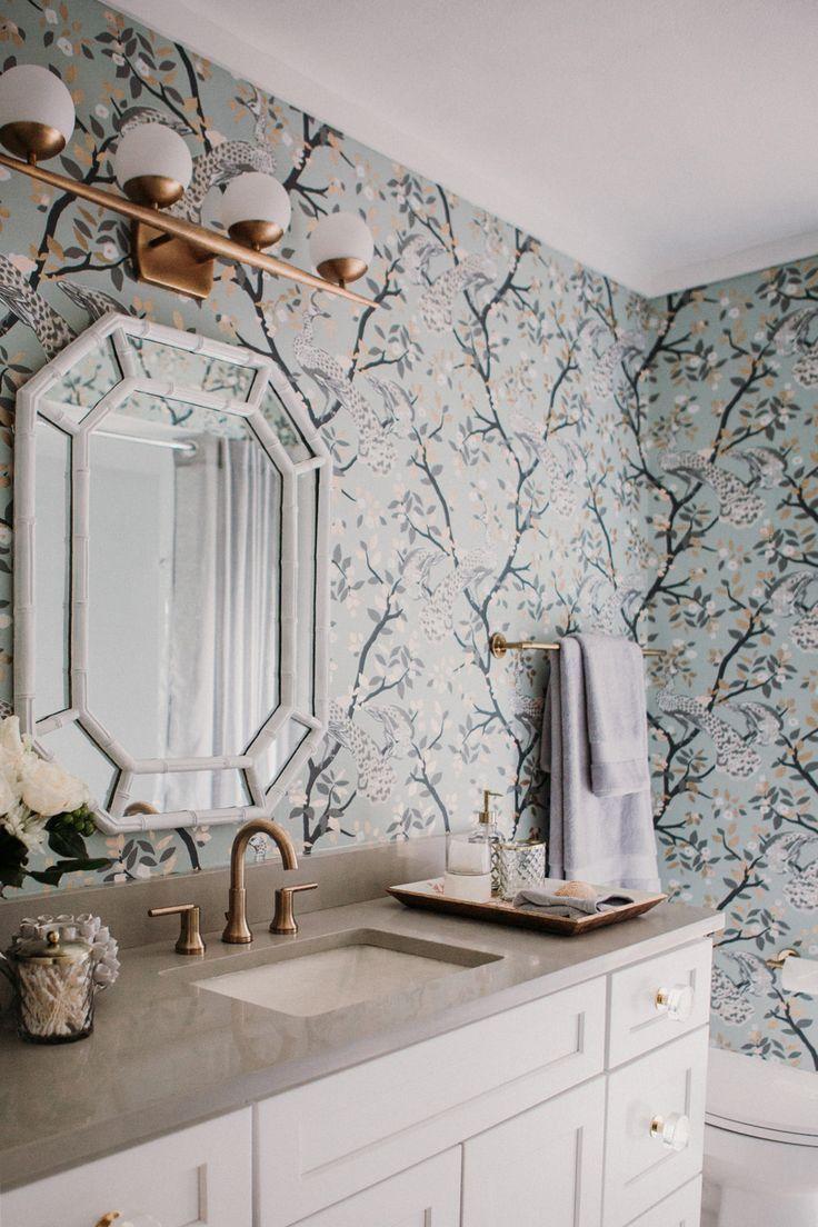 Bathroom Remodel Glam Retro With Images Retro Bathrooms