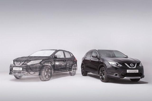 Η Nissan κατασκεύασε την μεγαλύτερη τρισδιάστατη εκτύπωση στον κόσμο σε QASHQAI !