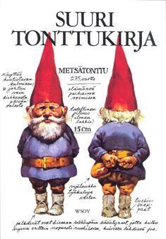 Tonttuja -  Kun luet nämä kaikki tonttukirjat, niin varmasti tiedät kaiken tontuista.