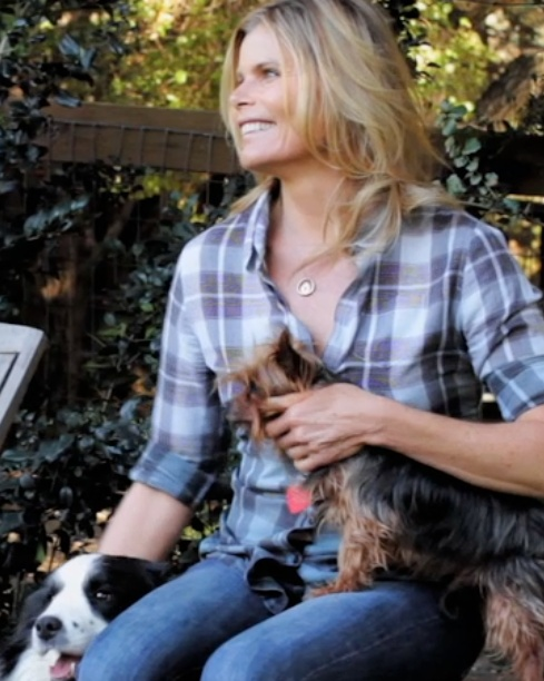 While filming at Mariel Hemingway's ranch this year, I couldn't resist getting her lovin on her pets.