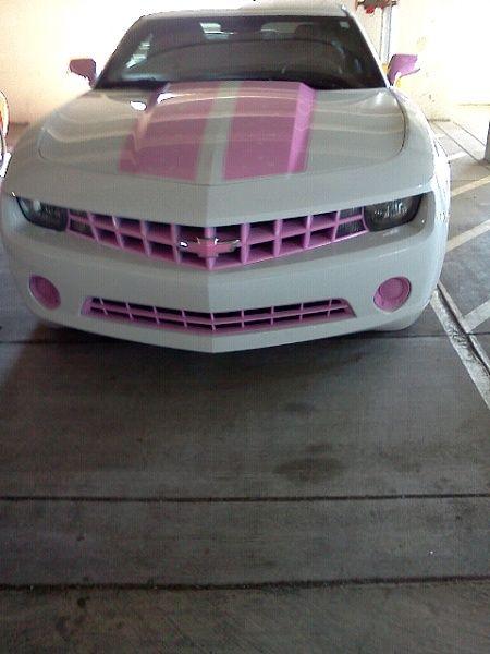 Pink Camaro details
