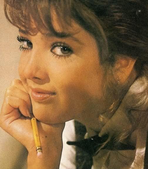 """Adela Noriega en su segundo protagónico, """"Quinceañera"""" donde interpreta a la joven Maricruz Fernández Sarcoser"""