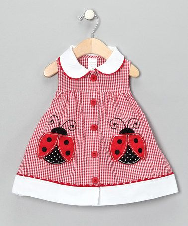 idea for lady bug applique