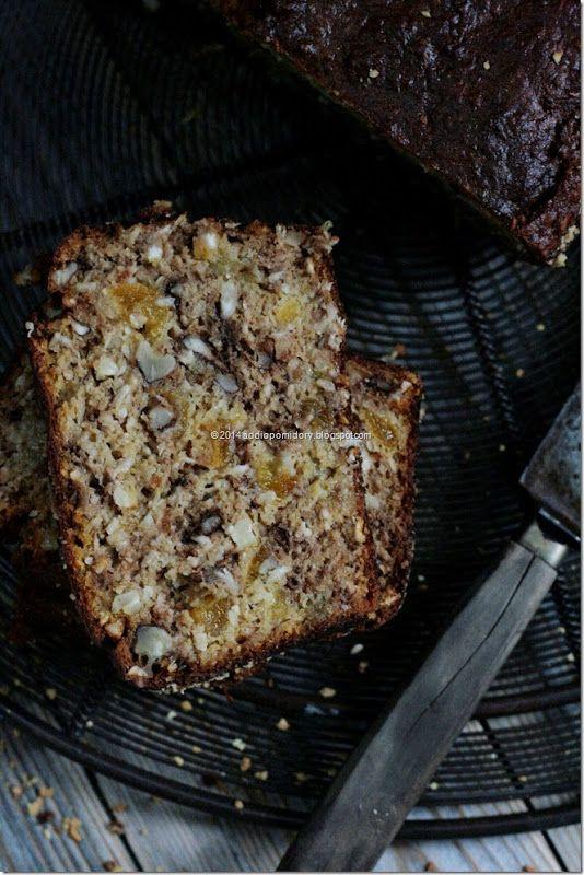 Healthy Pumpkin Banana Nut Bread (Gluten free, refined sugar free)