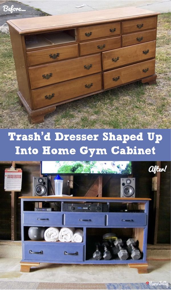 It's so fun to find FREE furniture left out to be refurbished and repurposed into something beautiful AND useful! Boom! Click in for photo tutorial, too!