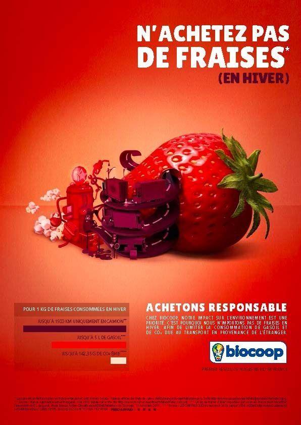 Campagne Biocoop - mai 2014 -