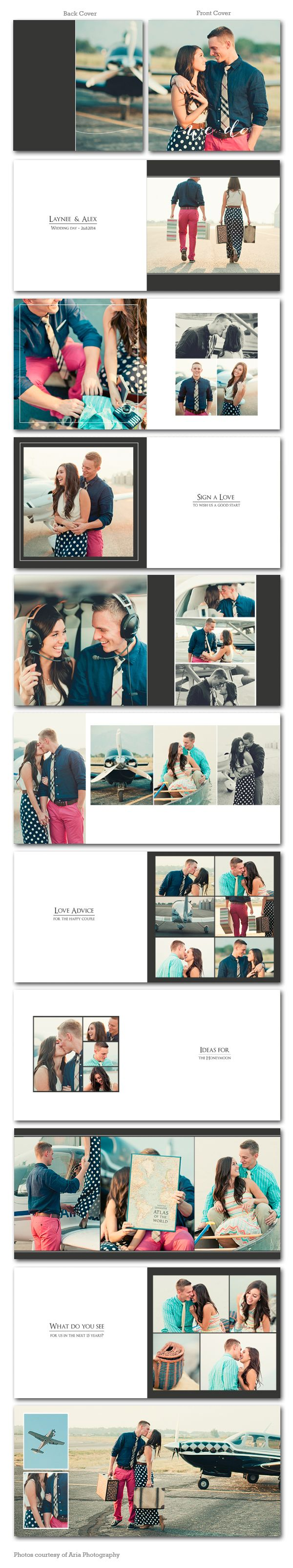 Reception Joy 12x12 Album Book Wedding reception album book template