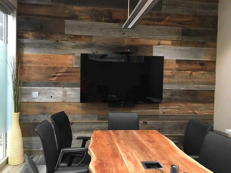 Design Story - office Reno, barn board