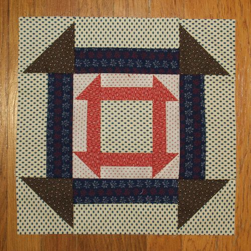 Quilt Patterns Slaves Used : Underground Railroad Quilt Patterns Templates Underground Railroad- Monkey Wrench Civil war ...