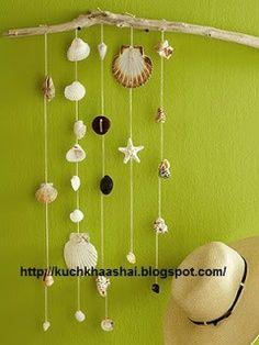 Makkelijke knutsel ideeën met schelpen / Easy Seashell Crafts | Kuch Khaas
