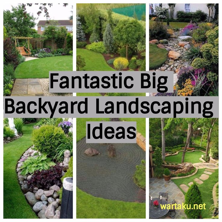 Best 25+ Large backyard landscaping ideas on Pinterest | Large ...